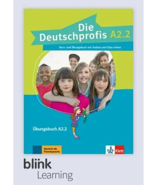 Die Deutschprofis A2.2 Übungsbuch - Digitale Ausgabe mit LMS - Tanulói verzió
