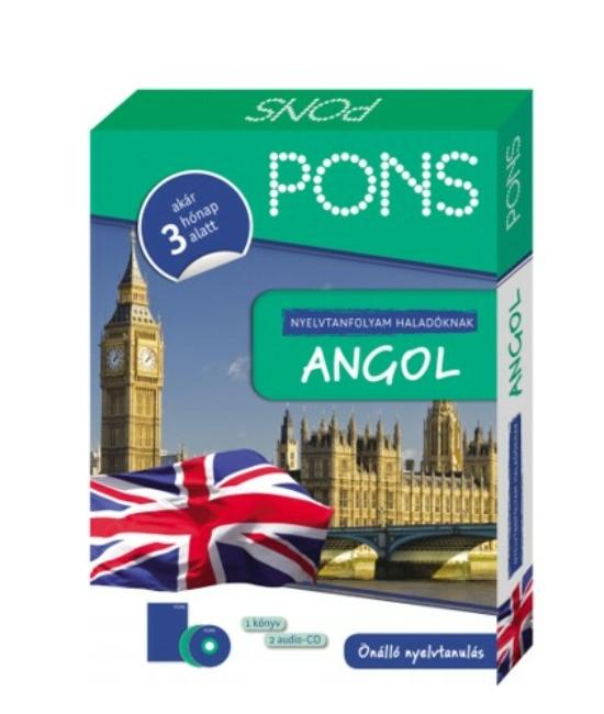 PONS Nyelvtanfolyam haladóknak – Angol