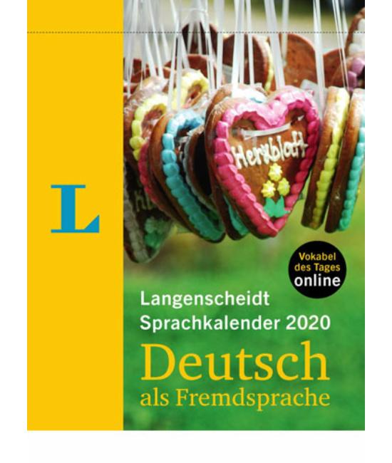 Langenscheidt Sprachkalender 2020 DaF