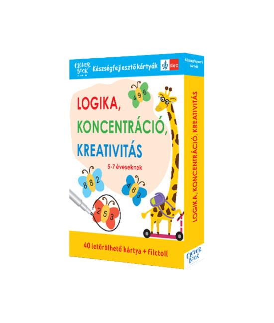 Logika, koncentráció, kreativitás - 5-7 éveseknek