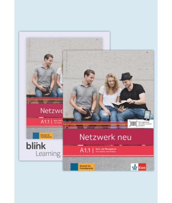 Netzwerk neu A1.1 Media Bundle Kurs  und Übungsbuch mit Audios Videos inklusive Lizenzcode