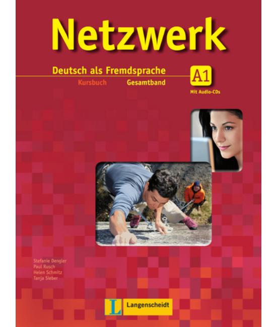 Netzwerk A1. Kursbuch mit 2 Audio-CDs