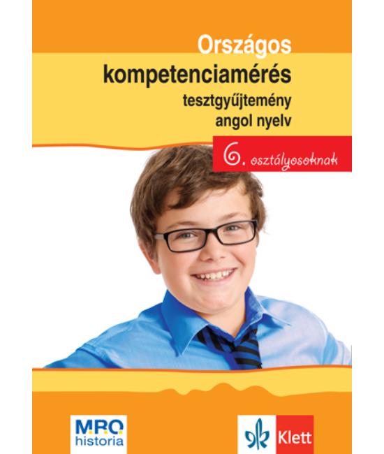 Országos kompetenciamérés tesztgy. Angol nyelv   6. oszt.