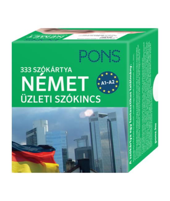 PONS Szókártyák Német Üzleti 333 Szó