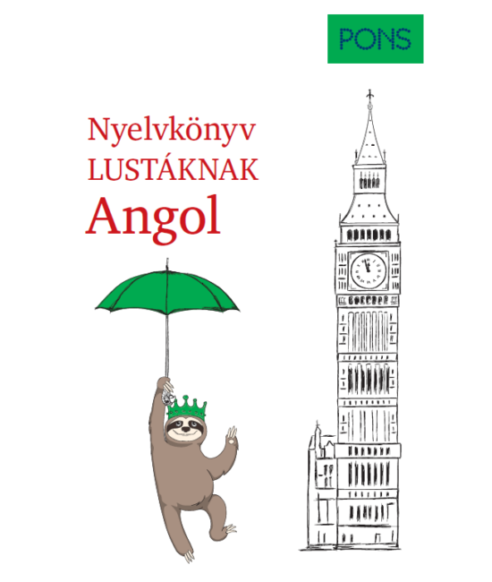 PONS Nyelvkönyv lustáknak Angol