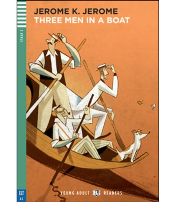THREE MEN IN A BOAT + Audio-CD