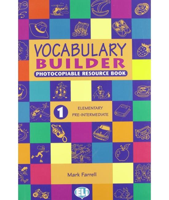 Vocabulary Builder 1   Elementery   Pre Intermediate
