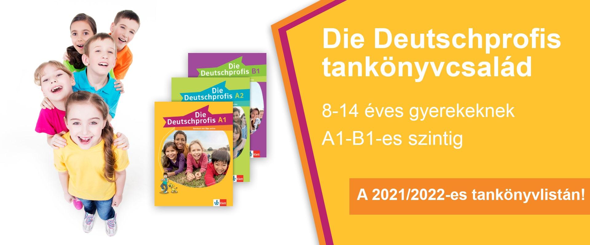 Die Deutshprofis tankönyvcsalád